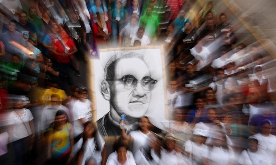 Rinden homenaje a Romero en El Salvador y Nicaragua a los 38 años de su asesinato
