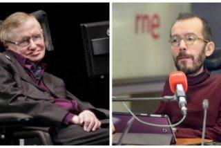 Cachondeo en las redes por el peculiar homenaje de 'Echeminga Dominga' a Stephen Hawking