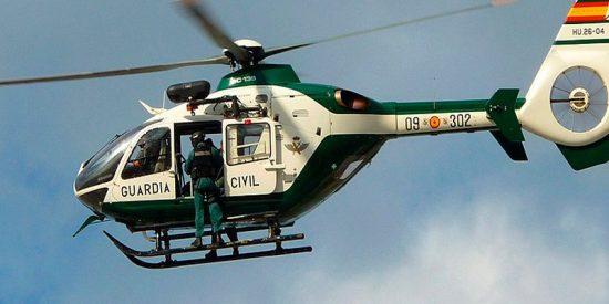 """Así son la mayores """"pilladas"""" del helicóptero de la Guardia Civil"""