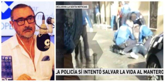 """El escalofriante relato de los agentes que auxiliaron al mantero: """"Nos gritaban que iban a matarnos"""""""