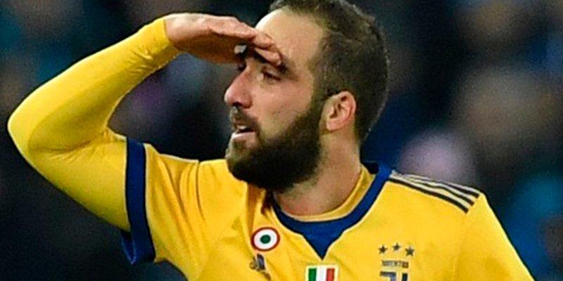 El Higuaín más oportunista brinda el pase a cuartos de la Juventus