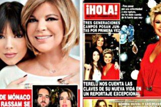Lo de Terelu Campos no es nuevo: ya posó con su hija Alejandra para ¡HOLA! en el 2013
