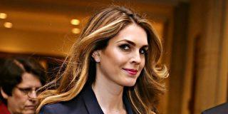 Dimite Hope Hicks, la directora de comunicaciones de Trump, y ya van cuatro