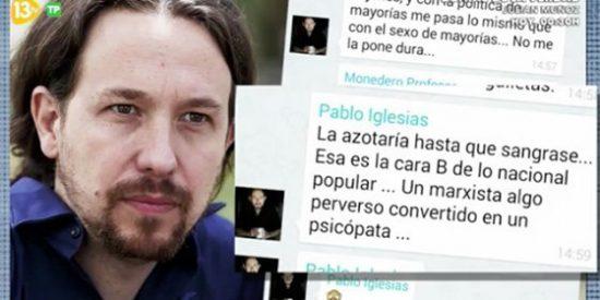 """Inda: """"Iglesias tiene razón en parte, no hay normalidad democrática cuando aboga por azotar a Mariló"""""""