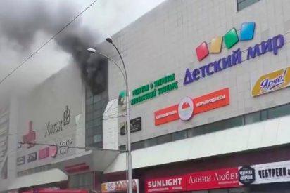 Encuentran vivos a tres desaparecidos tras el brutal incendio de Kémerovo