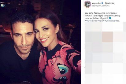 Paula Echevarría y Miguel Angel Silvestre, juntos en 'Los Angeles'