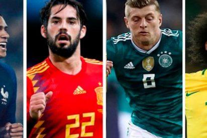 Dos super partidazos en la jornada internacional