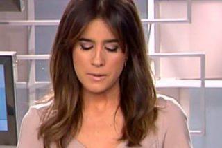 Isabel Jiménez al borde de las lágrimas por Gabriel en Informativos Telecinco