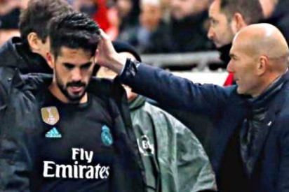 El 'secreto por el que Isco tardó en salir del campo al ser sustituido contra el Espanyol