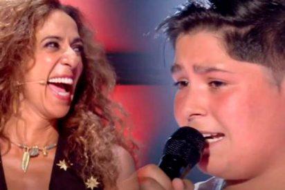Iván, el joven primo de David Barrull, lo peta en 'La Voz Kids'