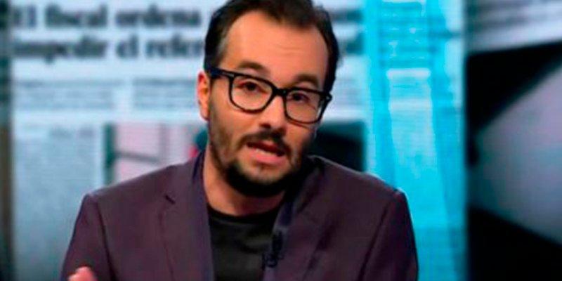 """La sucia amenaza de este colaborador de TV3: """"Habrá muertos porque la república no se construye con lacitos"""""""