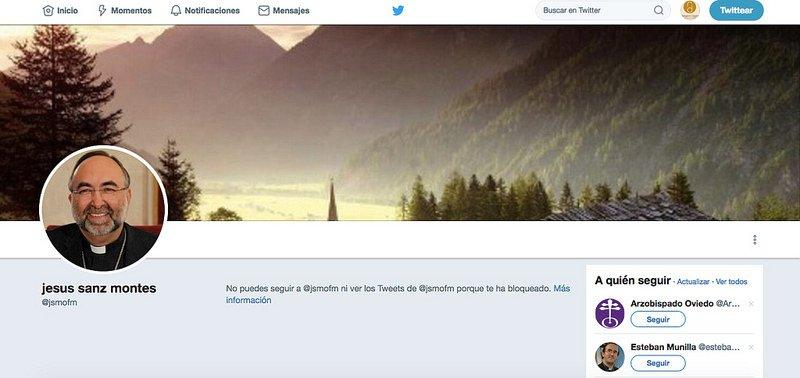 Jesús Sanz bloquea a RD en Twitter