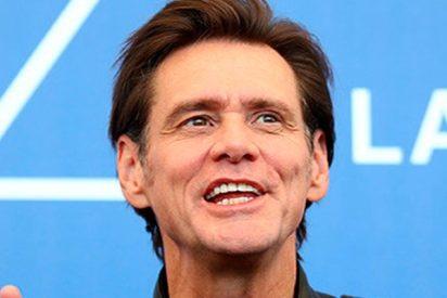 """El genial Jim Carrey hace un """"monstruoso"""" retrato de la 'cara' mas fea de la Casa Blanca"""