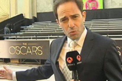 El corresponsal de Antena 3 en EEUU triunfa por su 'look' en los Oscar