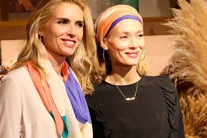 Judit Mascó y Ona Carbonell orgullosas madrinas de un 'pañuelo solidario' contra el cáncer