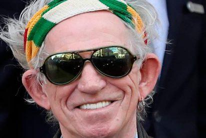"""Keith Richards deja las drogas porque se han vuelto """"flojas y aburridas"""""""