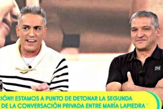 'Sálvame: Un 'face to face' a 'cara de perro' entre Kiko Hernández y Gustavo González