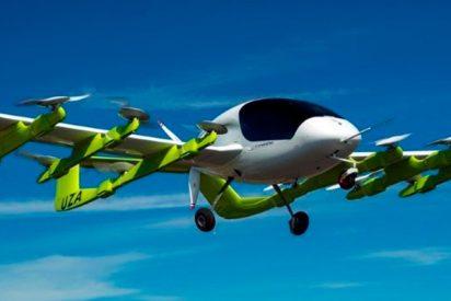 El increíble taxi volador eléctrico y autónomo se llama Kitty Hawk Cora