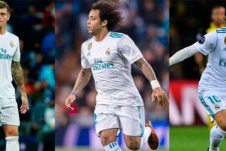 ¿Sabes quién de estos tres lesionados lo tiene más difícil para jugar ante el PSG?