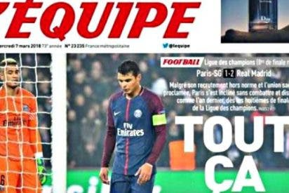 La prensa francesa propina una dolorosa tunda de azotes al 'pequeño' PSG