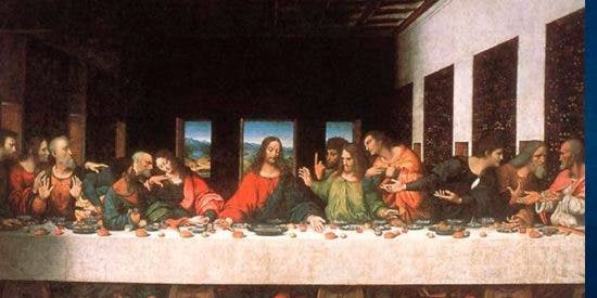 Una copia de «La última cena» de Da Vinci revela los secretos que el tiempo nos ocultó