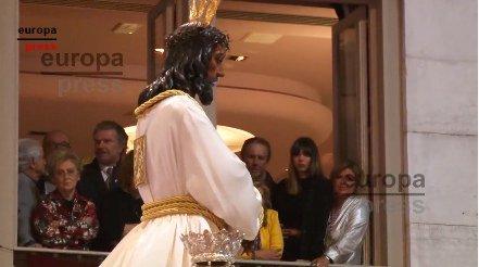 Las Campos se emocionan en la Semana Santa malagueña