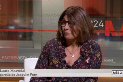 """La pareja de Joaquim Forn dice en TV3 que """"le cuesta"""" dar la mano a Enric Millo (PP)"""
