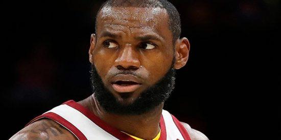 """Así fue el super mate """"para la eternidad"""" de LeBron James"""