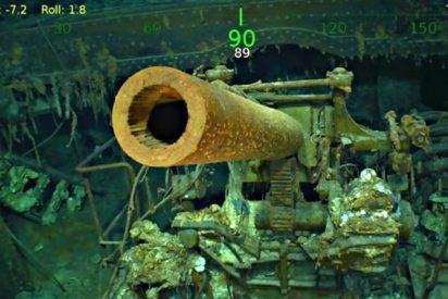 """""""Lady Lex"""": el hallazgo del USS Lexington, el célebre portaaviones hundido durante la II GM"""