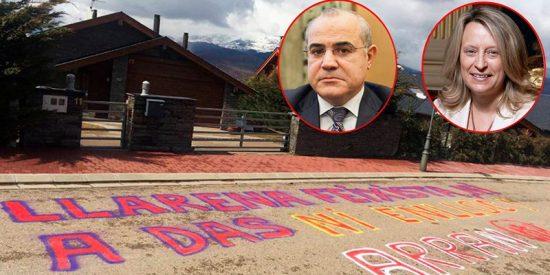 Así hostigan los fanáticos independentistas catalanes al juez Llarena y su familia