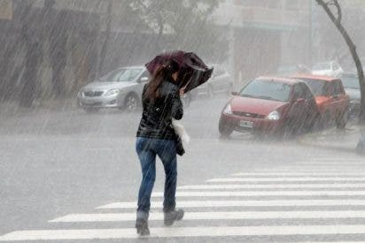Vientos de 138 kilómetros en el norte de la Península Ibérica y fuertes lluvias por la borrasca 'Félix'
