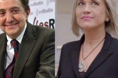 Jiménez Losantos aniquila la demagogia de Julia Otero y otras periodistas ilustres que patalean porque no hay mujeres en la dirección de los medios