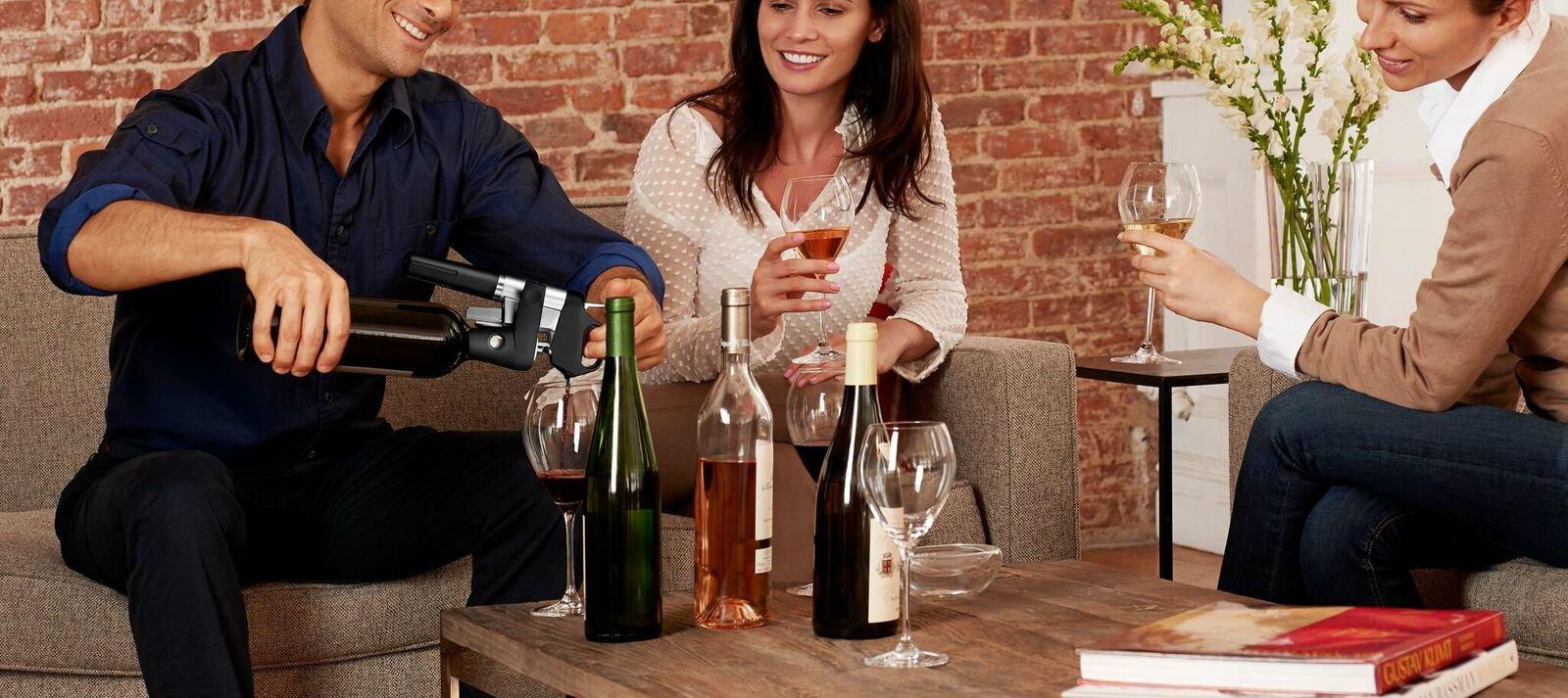 Coravin, un regalo original para los padres amantes del vino