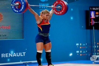 Lydia Valentín, campeona de Europa de halterofilia por cuarta vez