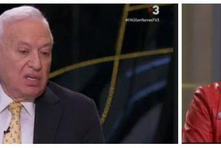 Margallo destroza a la 'indepe' de TV3 la pregunta-encerrona que le tenía preparada sobre su amigo Junqueras