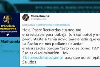 Marhuenda se revuelve contra la periodista que intentó hundirle en Twitter y silencia el sucio ataque de Elisa Beni