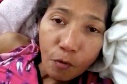 Así es el dramático vídeo de una trasplantada venezolana antes de morir por falta de medicinas