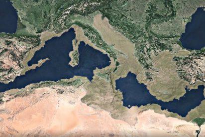 El Mediterráneo se llenó con una