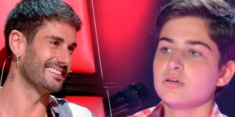 Melendi, su hija y la actuación 'interruptus' en 'La Voz Kids'