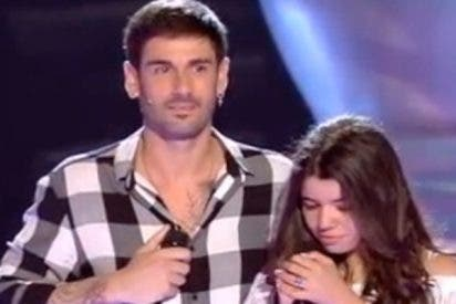 Una chica del público sorprende a Melendi en 'La Voz Kids'