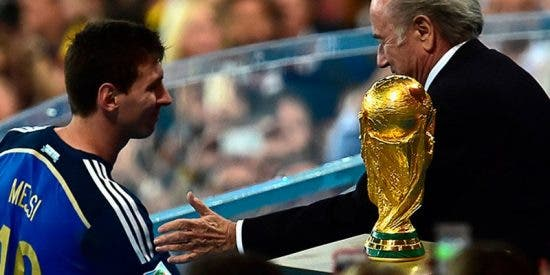 "Messi: ""Me imagino poder levantar la Copa del Mundo"""