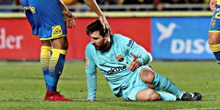 Por fin, 746 días después y tras dos años de bula, le pitan un penalti al Barça de Messi