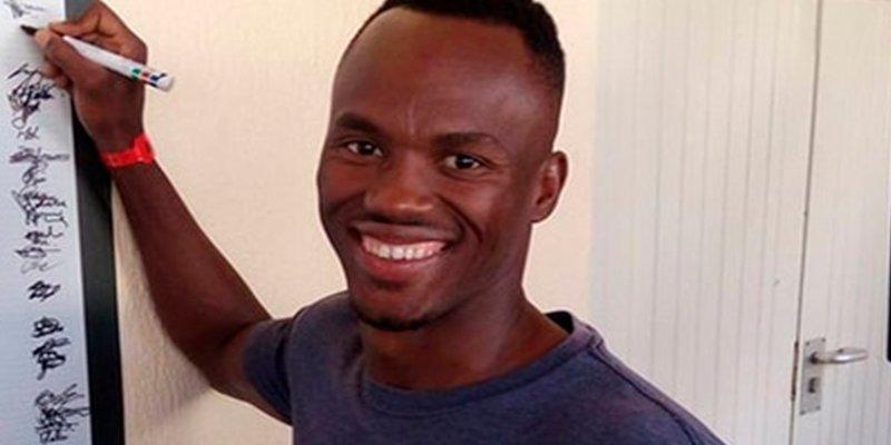 Intentaron cortarle las piernas con una motosierra a este atleta sudafricano en plena calle