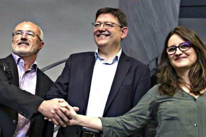 Los pufos de PSPV y Bloc: Preservativos, bronceados, una avioneta y una protesta contra Canal 9...
