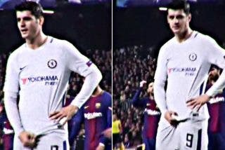 A Morata se le hincharon las 'pelotas' de aguantar insultos de los fans del Barça