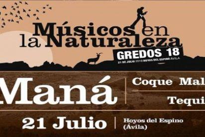 El rock de Maná, cabeza de cartel en Músicos en la Naturaleza 2018