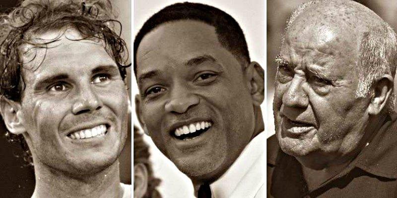 Si los españoles pudieran elegir jefe, escogerían a Rafa Nadal, Will Smith o Amancio Ortega
