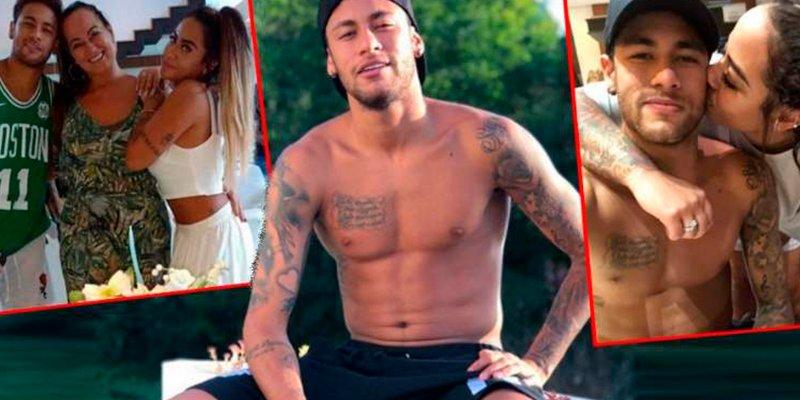 La vidorra que se está pegando Neymar tras su lesión