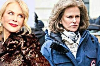 La bella Nicole Kidman se ha hecho vieja de repente
