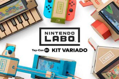 Nintendo Labo apuesta por el cartón